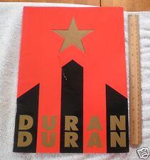 Duran Duran Concert Tour Program 1987 Strange Behaviour