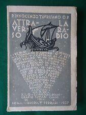 """INNOCENZO TAURISANO  """"ATTRAVERSO LA RADIO"""" FERRARI, 1937, XILOGRAFIE PIANIGIANI"""