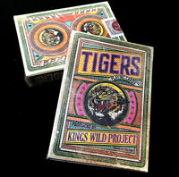 KINGS WILD TIGERS PLAYING CARDS JACKSON ROBINSON SEALED DECK MAGIC CARDISTRY