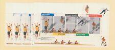 Netherlands Scott 806 Summer Games Volleyball, Rowing and Field Hockey MNH
