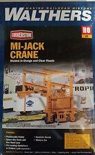 3122 Walthers Cornerstone Mi-Jack Trailer Intermodal Crane HO Scale