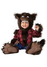Infant Baby Wee Werewolf Wolf Man Costume SIZE L (Used)