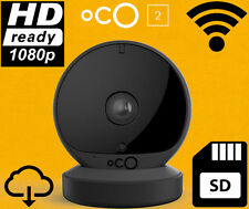 Oco2 Full HD Camera SD Card Cloud Storage Wifi Motion Sound Detection 2 Way Talk