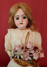Antique German Bisque Head Doll EARLY Handwerck 109 Marked Body  25""