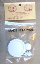 Collectable Dolls House Accessories - D H Emporium White Metal Tea Set - BNIP
