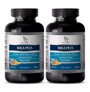 Fertility pills for women MACA PLUS ORGANIC COMPLEX 1300 mg Women's health 2B