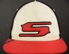 Smith Optics Googles Red White Black Baseball Hat Cap Fitted