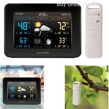 Digital Weather Station Wireless Thermometer Indoor Outdoor Forecast Humidity