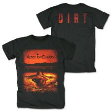 Alice In Chains Dirt Men's Crew Neck Black T-Shirt Tour Tee