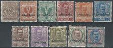 1903 Eritrea VE III 11v. mc. MNH Cat Sass n. 19/29 € 1965,00