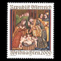 Austria 2000 - Christmas - Sc 1833 MNH