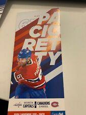 unused season hockey tickets Canadiens featuring Max Pacioretty nov 1  2018