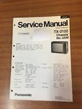 Panasonic TV  Service manual TX-2122 chassis U5W