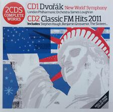 DVORAK - SYMPHONY NO. 9: LOUGHRAN / CLASSIC FM HITS 2011 - CLASSIC FM 2 CD SET