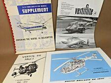 Vintage Lot of Vertol Boeing Helicopter Ephemera