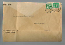 1942 Red Cross Holland Cover to Commandant Amersfoort Concentration Camp KZ