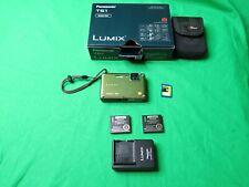 Panasonic LUMIX TS1 12MP Digital Camera Waterproof & Shock Resistant Green/Vert