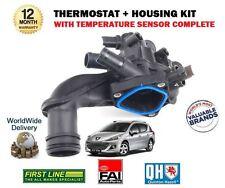 POUR PEUGEOT 207 1.6 16 V Turbo RC 2006 -- > Nouveau Thermostat + Boîtier + Kit de capteur