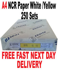 A4 2 PART NCR PAPER 250 Sets Laser Compatible