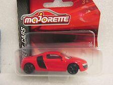 MAJORETTE METAL STREET CARS AUDI R8  Red Version