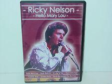 "*****DVD-RICKY NELSON""HELLO MARY LOU""-2005 Delta Entertainment*****"