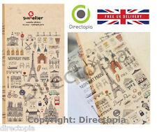 Midnight Paris France French Eiffel Scrapbook Diary Album Decor Stickers