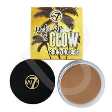 W7 Make Up & Glow Bronzing Base (Bronzing Face Primer) 35g Ideal for Contouring