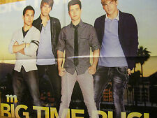 Big Time Rush, Four Page Foldout Poster