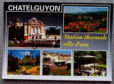 CHATEL GUYON MULTIVUES STATION THERMALE VILLE D EAU       postcard