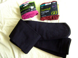 Ladies Cosy Winter Tights Bundle,Size:Small,3 Pairs,Quality Tights,Unused