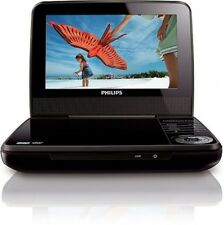 "7"" Portable LCD DVD Player Kids Travel Entertainment Refurbished w/ Car Adapter"
