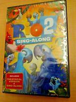 Rio 2 Sing-Along (DVD, NEW) Brand New