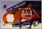 TOPPS TX 2002 TOM GUGLIOTTA NBA PHOENIX SUNS XTRA THREADS GAME JERSEY #XTTG