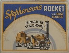 BENBROS - STEPHENSONS ROCKET WITH COAL TENDER - NEAR MINT & BOXED