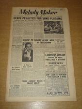 MELODY MAKER 1948 APRIL 10 BBC SYDNEY SIMONE FRANK WEIR TITO BURNS +
