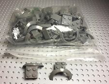 Lego 24 New Bulk Lot Truck,car Vehicle Dark Bluish Gray Mudguards Parts / Pieces