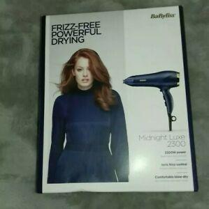 BaByliss Midnight Luxe 2300W Hair Dryer