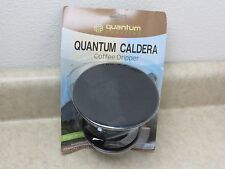 Quantum caldera coffee dripper Pour Over Single Serve Cup Brewer black