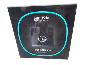 1K Sirius Satellite Radio S50 Home Kit Boxed Complete