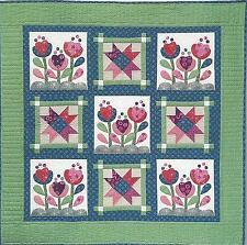 Bloom Love quilt pattern by Nancy Rink of Nancy Rink Designs