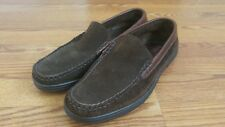 Allen Edmonds Westland Brown Suede Leather Loafers Size 8.5 EE