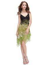 Lace V-Neck Dresses Patternless Midi