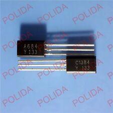 50pair OR 100PCS TOSHIBA TO-92L 2SA684-Y/2SC1384-Y 2SA684/2SC1384 A684-Y/C1384-Y