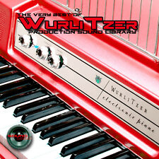 WURLITZER ELECTRONIC PIANO - Perfect 24bit WAVE Multi-Layer Samples Library DVD