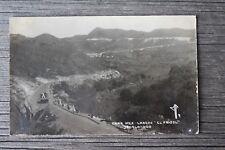 RPPC Carr Mex.-Laredo El Frijol Jacala Sierra Madre Truck Workers Mountain Road