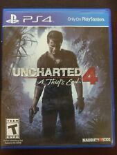 Uncharted 4: A Thief's End Sony PlayStation 4 PS4 Game