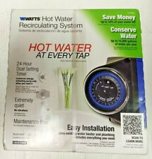 Watts 500800 Premier Instant Hot Water Recirculating Pump System with Timer F/S