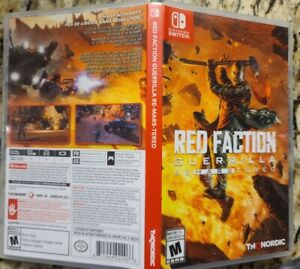 *Complete* Red Faction Guerilla Re-Mars-Tered Nintendo Switch