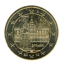 DEUTSCHLAND - 2 Euro 2010 - BREMEN - F - vergoldet (12031/83N)