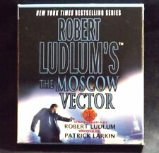 THE MOSCOW VECTOR CD AUDIO BOOK ROBERT LUDLUM & PATRICK LARKIN 2005